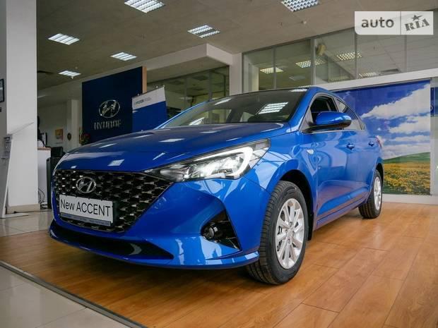Hyundai Accent 5-е поколение (рестайлинг) Седан