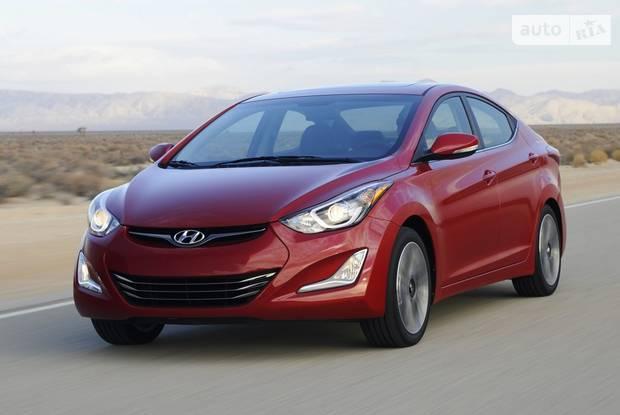 Hyundai Elantra MD рестайлинг Седан