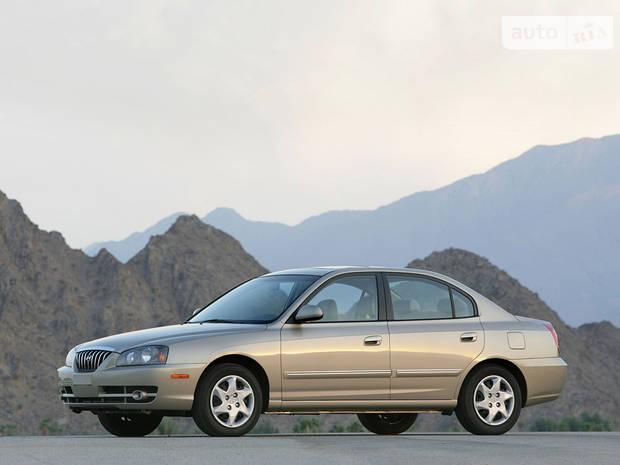 Hyundai Elantra XD рестайлинг Седан