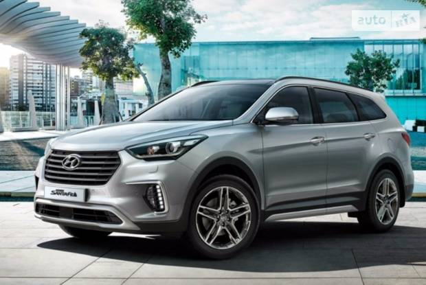 Hyundai Grand Santa Fe I покоління, 1 рестайлінг Кросовер