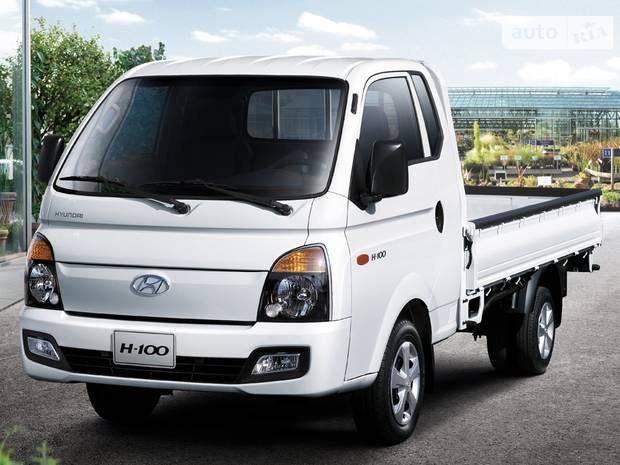 Hyundai H 100 груз. ІІІ поколение (рестайлинг) Борт