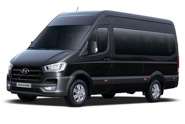 Hyundai H 350 пасс. 1-е поколение Микроавтобус