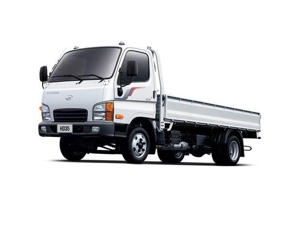 Hyundai HD 35 1-е поколение Борт