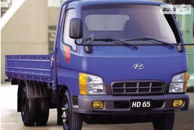 Hyundai HD 65 1 поколение Борт