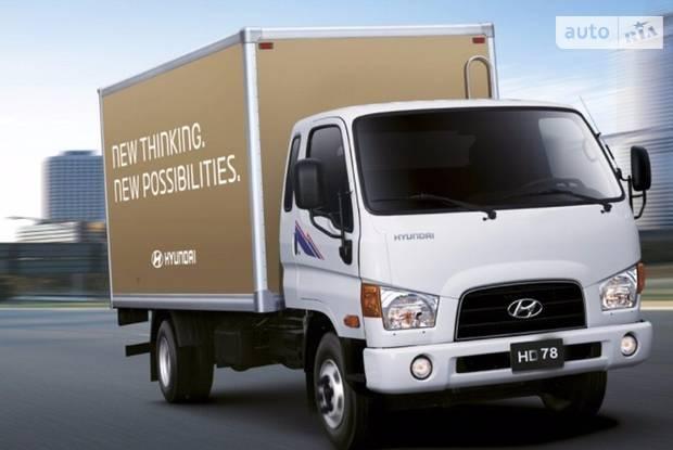 Hyundai HD 78 1 поколение Промтоварный