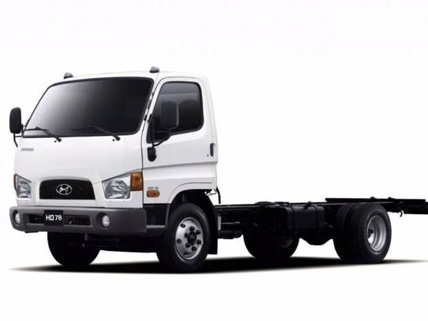 Hyundai HD 78 1 поколение Шасси