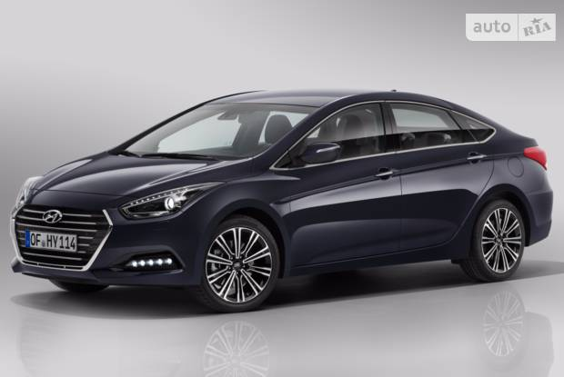 Hyundai i40 I покоління, 1 рестайлінг Седан