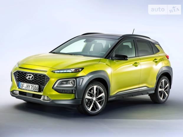 Hyundai Kona I поколение Кроссовер