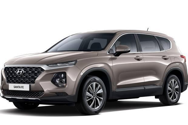 Hyundai Santa FE IV поколение Кроссовер