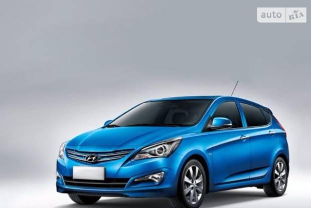 Hyundai Solaris I покоління, 1 рестайлінг Хэтчбек