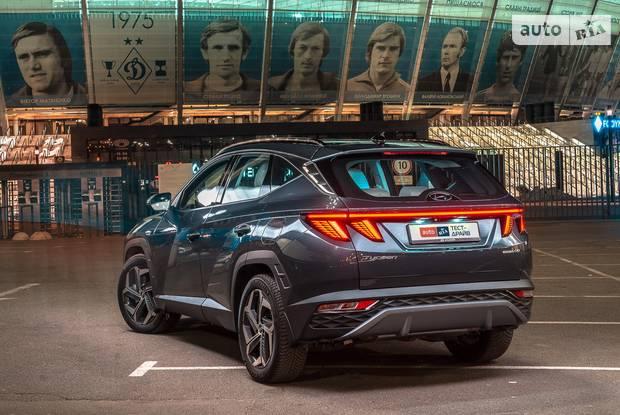 Hyundai Tucson Top Plus Teal
