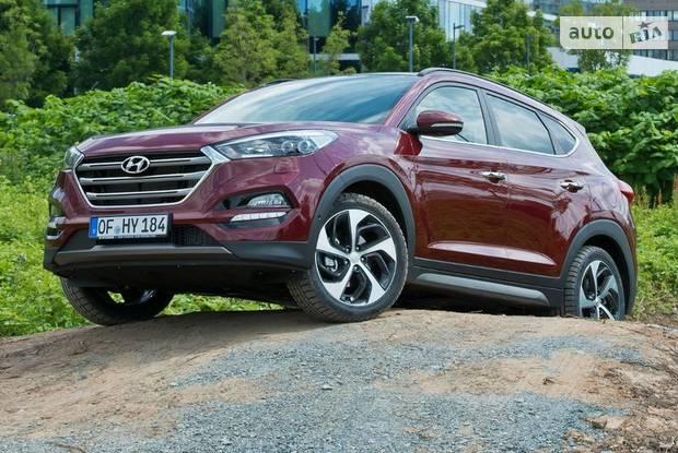 Hyundai Tucson Top Red
