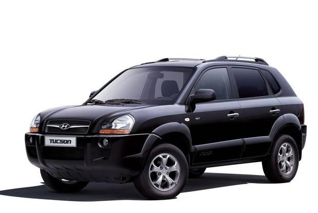 Hyundai Tucson JM Кроссовер
