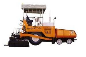 Ірмаш asf-k-2-04 1 покоління Асфальтоукладач