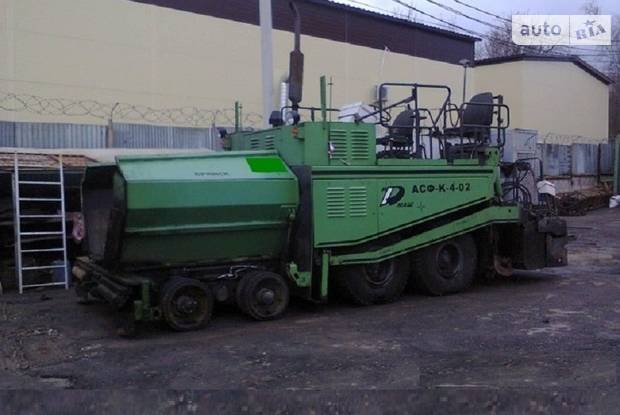 Ірмаш Асф-К-4-02 2 покоління Асфальтоукладач