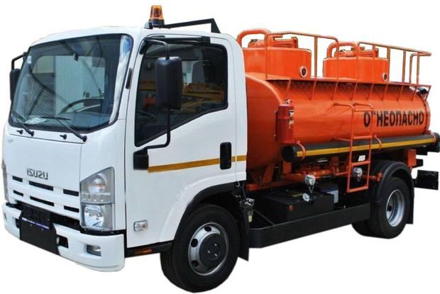 Isuzu NQR 6 поколение Паливозаправщик