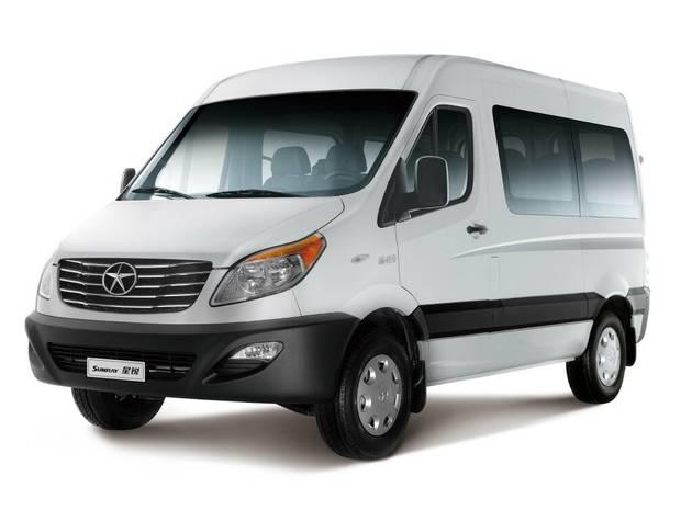 JAC Sunray 1-е поколение Мікроавтобус