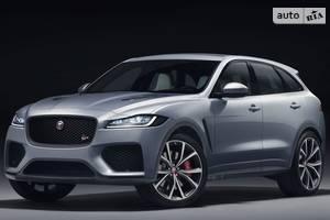 Jaguar f-pace 1 поколение Кроссовер