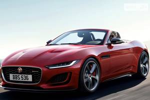 Jaguar f-type І поколение (2 рестайлинг) Кабриолет