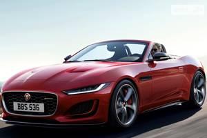 Jaguar f-type І поколение (2 рестайлинг) Кабріолет