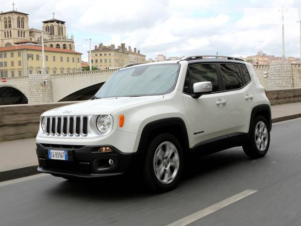 Jeep Renegade BU Кроссовер