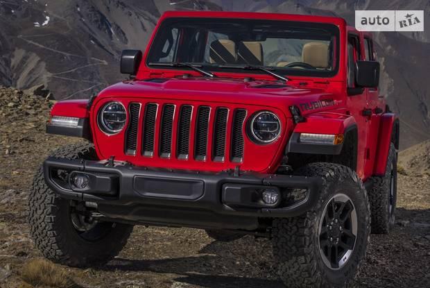 Jeep Wrangler JL Позашляховик