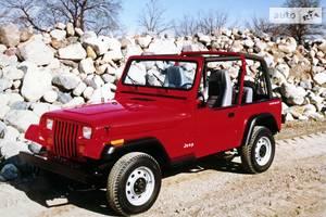 Jeep wrangler YJ Внедорожник