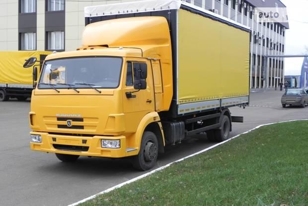 КамАЗ 4308 1 покоління (рестайлінг) Фургон