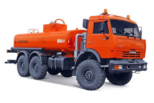 КамАЗ 43118 2 покоління (рестайлінг) Топливозаправщик