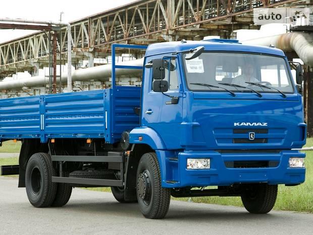 КамАЗ 43253 2 покоління (рестайлінг) Борт