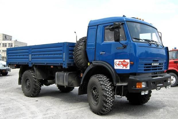 КамАЗ 4326 2 покоління (рестайлінг) Борт