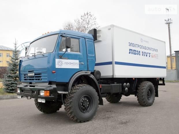 КамАЗ 4326 2 покоління (рестайлінг) Грузовик