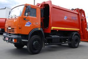 КамАЗ 53215 2 покоління (рестайлінг) Сміттєвоз