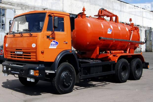 КамАЗ 53215 2 покоління (рестайлінг) Илососная машина
