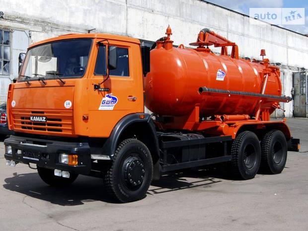 КамАЗ 53215 2 покоління (рестайлінг) Мулососна машина