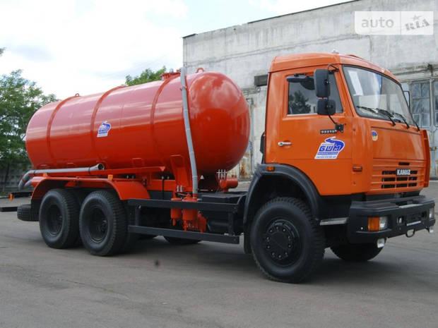 КамАЗ 53215 2 покоління (рестайлінг) Ассенизатор / Вакуумная машина
