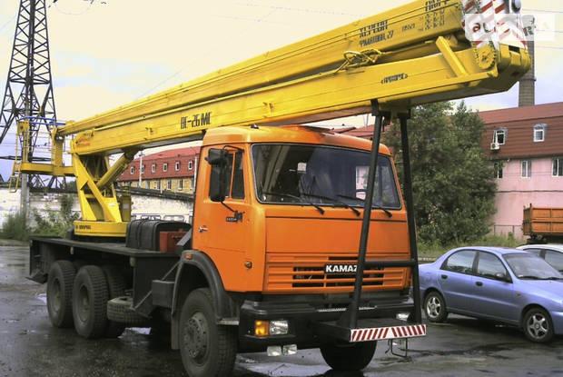КамАЗ 53215 2 покоління (рестайлінг) Автовышка