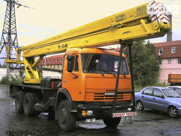 КамАЗ 53215 2 покоління (рестайлінг) Автовишка