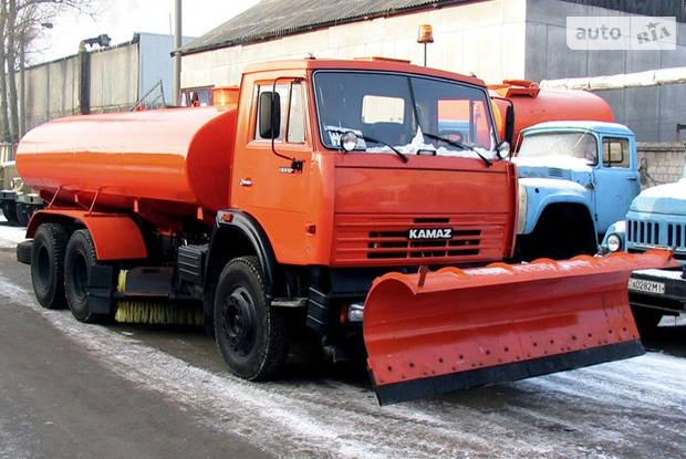 КамАЗ 53215 2 покоління (рестайлінг) Дорожная машина