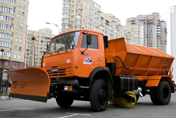 КамАЗ 53215 2 покоління (рестайлінг) Коммунальная техника