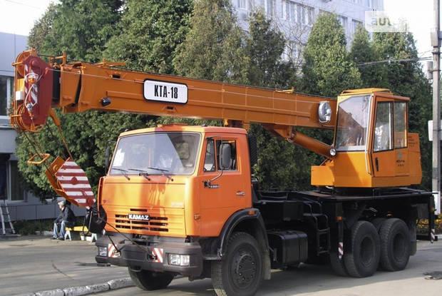 КамАЗ 53605 1 покоління (рестайлінг) Автокран