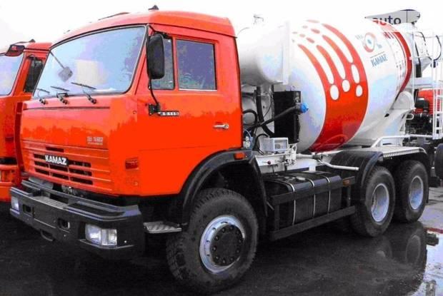 КамАЗ 581470 1 покоління (рестайлінг) Бетономешалка (Миксер)
