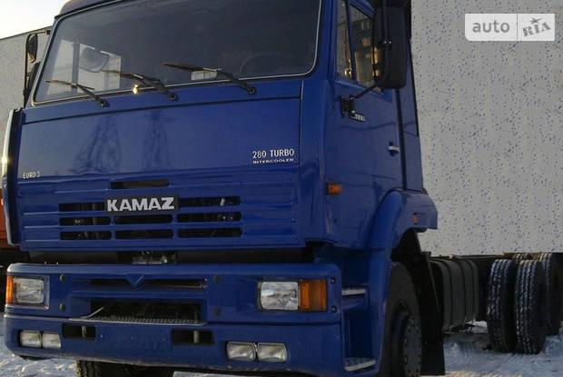 КамАЗ 65111 1 покоління (2 рестайлінг) Шассі