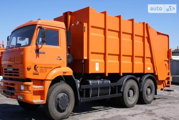КамАЗ 6520 1 покоління (рестайлінг) Машина мусоровоз