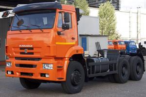 КамАЗ 6520 1 покоління (рестайлінг) Шасси