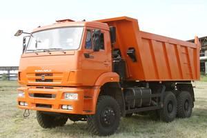 КамАЗ 6522 2 покоління (рестайлінг) Самосвал