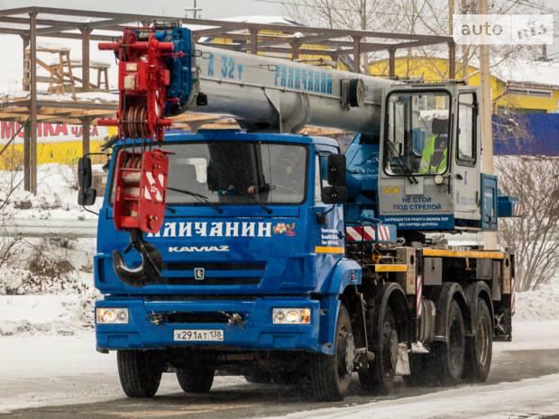 КамАЗ КС 2 покоління (2 рестайлінг) Автокран