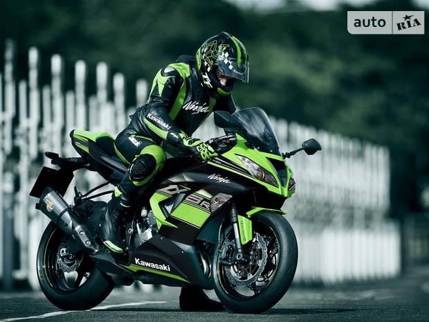 Kawasaki Ninja 9 поколение Мотоцикл