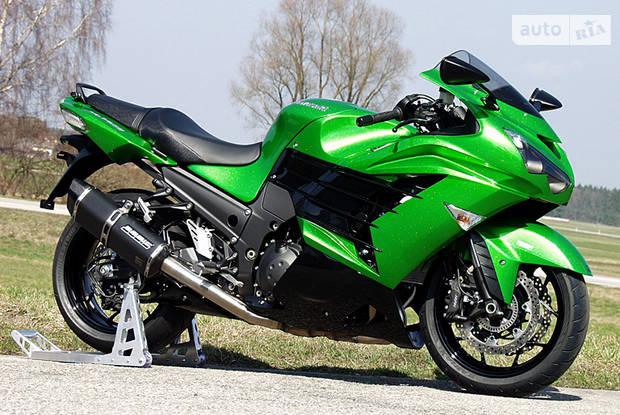 Kawasaki ZZR 1 поколение Мотоцикл