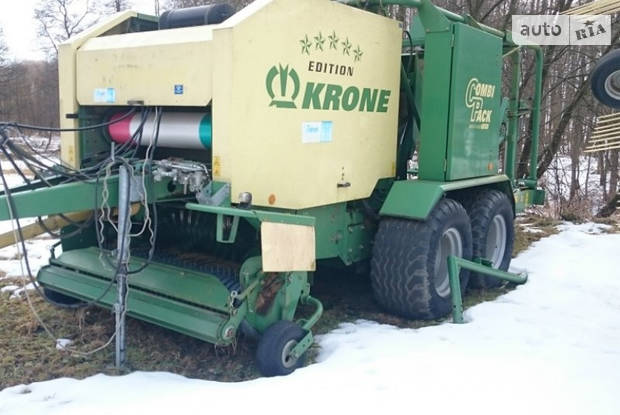 Krone Combi Pack 1-е поколение Пресс-подборщики